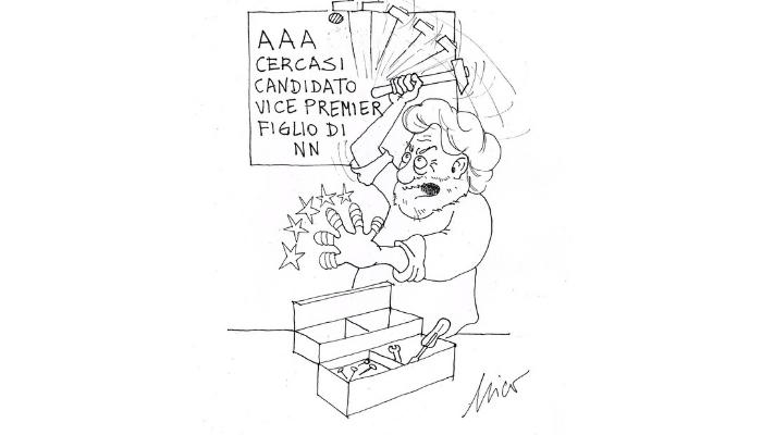 Beppe Grillo cercasi vice premier
