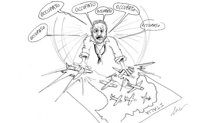 Salvini occupato