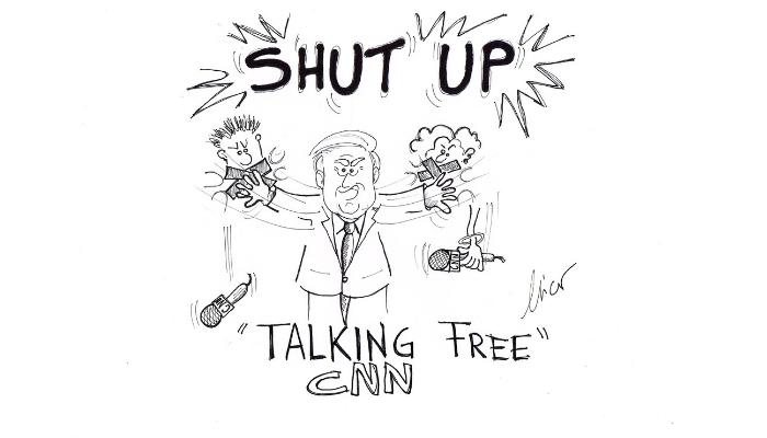 Trump shut up CNN