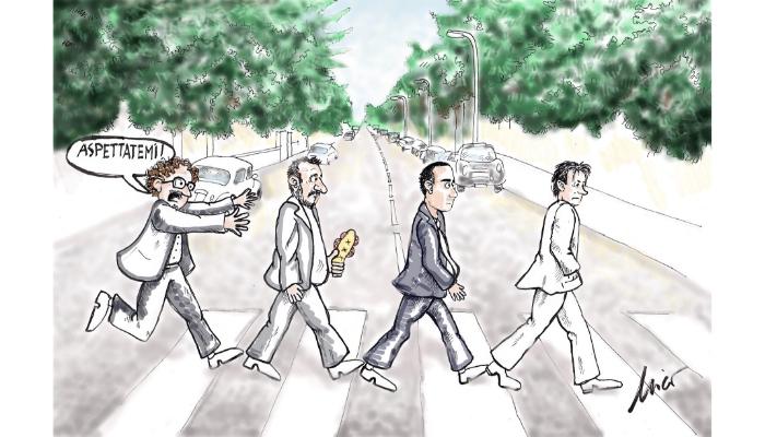 Beatles italy