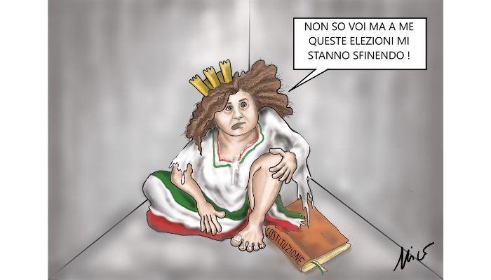 L'Italia è sfatta