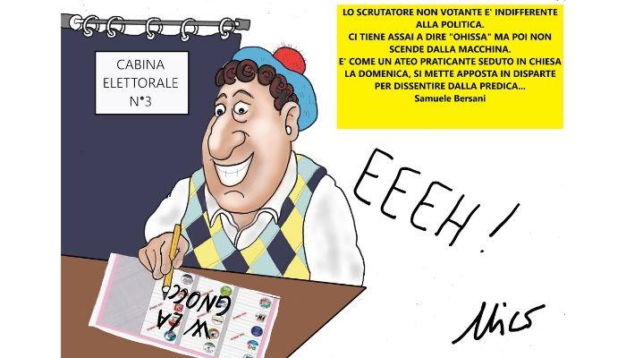 Lo scrutatore non votante