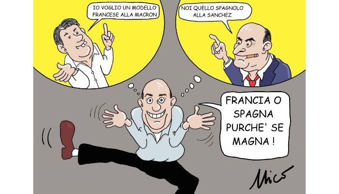 Modello Francese o Modello Spagnolo