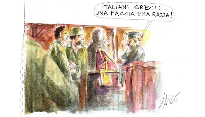 italiani greci, stessa faccia stessa razza