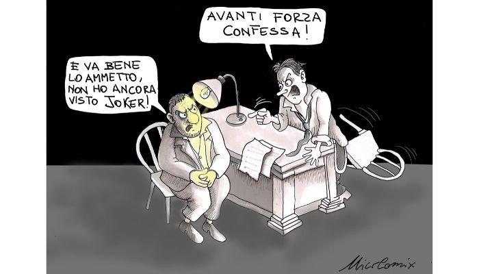Joker - Salvini non confessa il Russiagate. Nicocomix