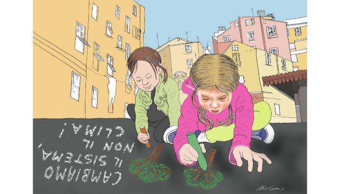 Clima . 29 Novembre 4° sciopero sul clima. Nicocomix