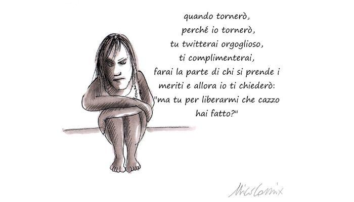 Silvia Romano, un anno senza di te . Nicocomix