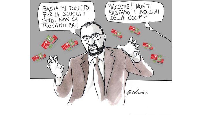 Fioramonti . Le dimissioni del Ministro Fioramonti . Nicocomix