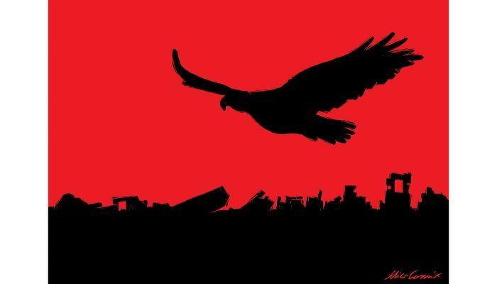 Le Aquile dell'Albania volano sempre - Terremoto in Albania - International Exhibition Albania - Nicocomix
