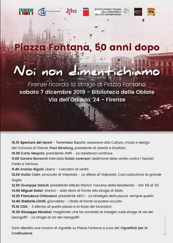 mostra Piazza Fontana Nicocomix