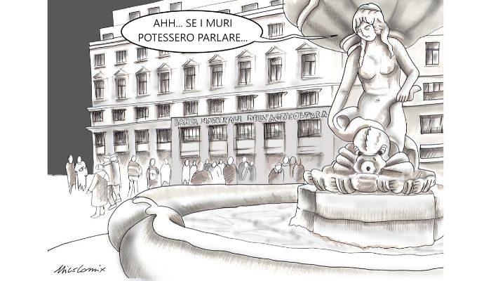 se i muri potessero parlare - strage Piazza Fontana Milano - 12 Dicembre 1969 - Nicocomix
