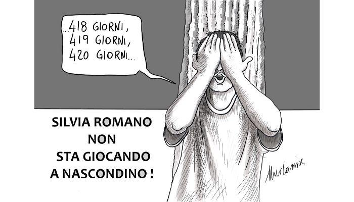 NASCONDINO quanti giorni sono passati dal rapimento di Silvia Romano?  Nicocomix
