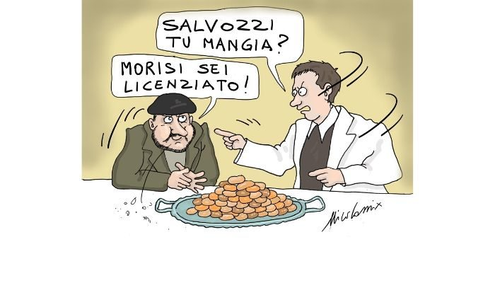 Salvini non digiuna. Il caso del processo al leader della Lega sul sequestro della nave Gregoretti. Nicocomix