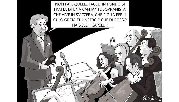 Festival Sanremo . Alla 70esima edizione del Festival di Sanremo, canterà Rita Pavone . Nicocomix