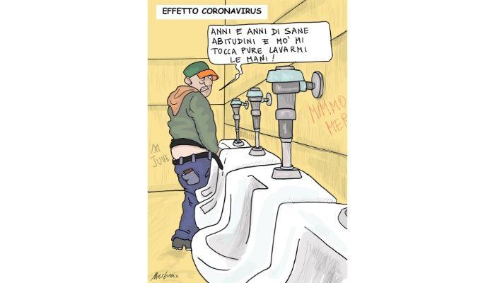 LAVARSI LE MANI . Coronavirus  in Italia oltre 100 contagi. Nicocomix