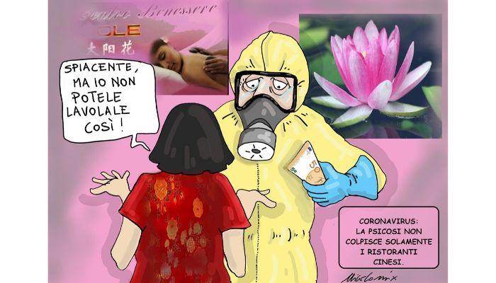 Psicosi Coronavirus non solo i ristoranti e i bazar cinesi stanno risentendo della psicosi da contagio. Nicocomix