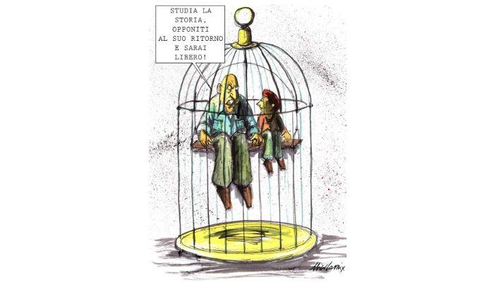 studia la storia . Cosa accradrà quando anche l'ultimo partigiano, l'ultimo testimone dell'olocausto ci lascerà? Nicocomix