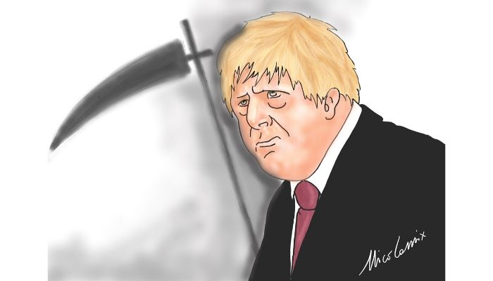 immunità di gregge  Boris Johnson e il coronavirus. Nicocomix