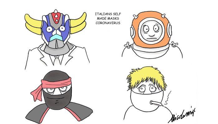 mascherine coronavirus fai da te 2 . Nicocomix