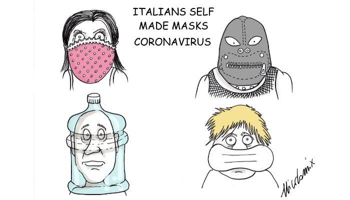 mascherine coronavirus fai da te Nicocomix
