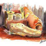 """10 Calvino Immagini . Le mie illustrazioni per il video tratto dal romanzo di Italo Calvino """" Il sentiero dei nidi di ragno"""" by Nicocomix"""