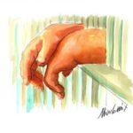 """14 Calvino Immagini . Le mie illustrazioni per il video tratto dal romanzo di Italo Calvino """" Il sentiero dei nidi di ragno"""" by Nicocomix"""