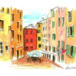 """7 Calvino Immagini . Le mie illustrazioni per il video tratto dal romanzo di Italo Calvino """" Il sentiero dei nidi di ragno"""" by Nicocomix"""