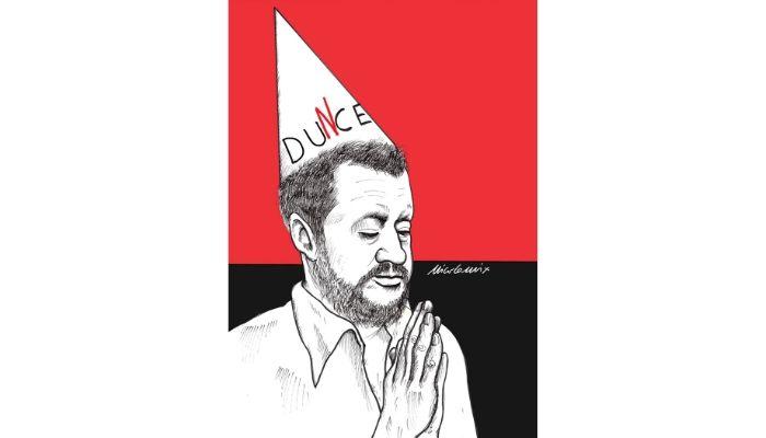 """Dunce . Processo Salvini viene """"rimandato"""" ad Ottobre. Nicocomix"""