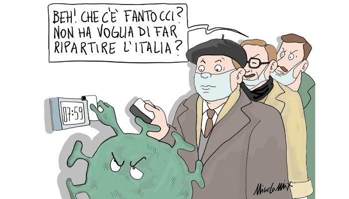 Fase 2 bis . l'Italia è davvero pronta a ripartire? Nicocomix