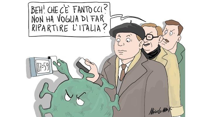 Fase 2 . Lunedì 4 Maggio l'Italia è pronta per ripartire nonostante l'emergenza coronavirus, ma siamo davvero sicuri? Nicocomix