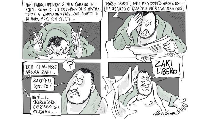 Lo sciacallo . La caccia di consensi di Matteo Salvini arriverà anche a questo? Nicocomix