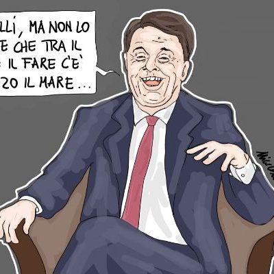 Renzi l'ipocrita