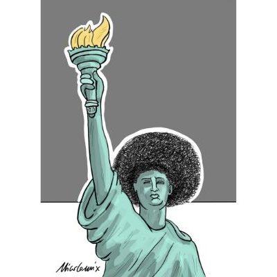 Statua Afro della Libertà