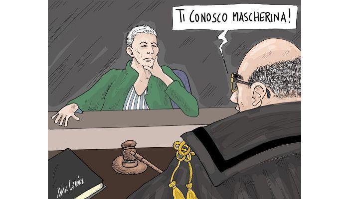 Ti conosco mascherina ! Irene Pivetti al centro di due indagini parallele. Nicocomix