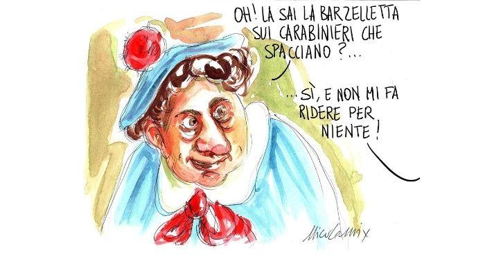 Pierino . Le barzellette sui carabinieri facevano ridere da ragazzini, adesso meno! Carabinieri di Piacenza. Nicocomix