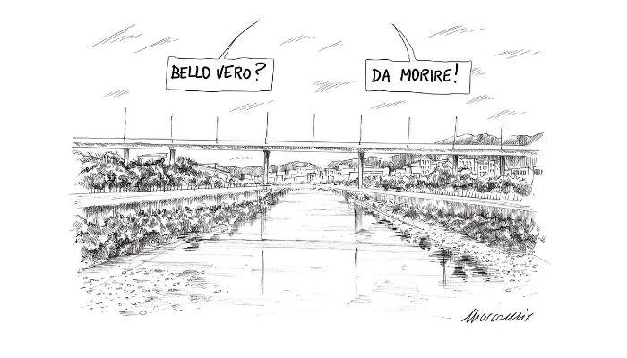 Ponte S. Giorgio Genova - Nicocomix