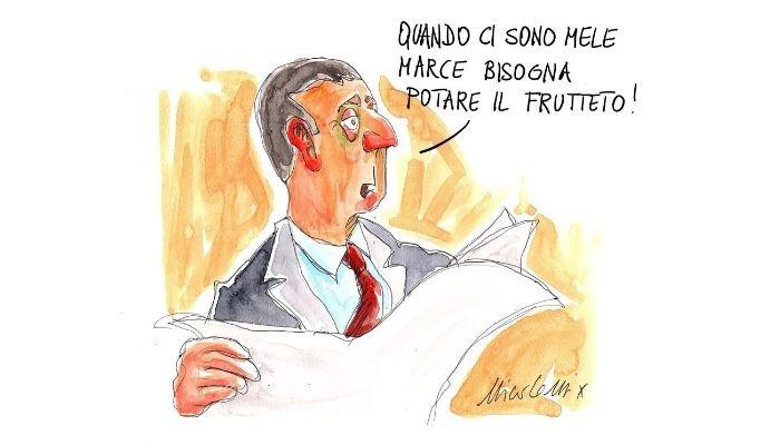 meglio potare nella caserma Levante dei Carabinieri a Piacenza... Nicocomix
