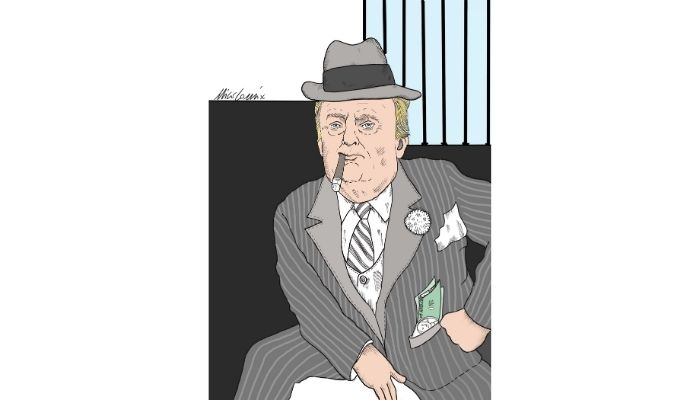 Al Trumpone. Inchiesta per evasione fiscale di Donald Trump. Nicocomix
