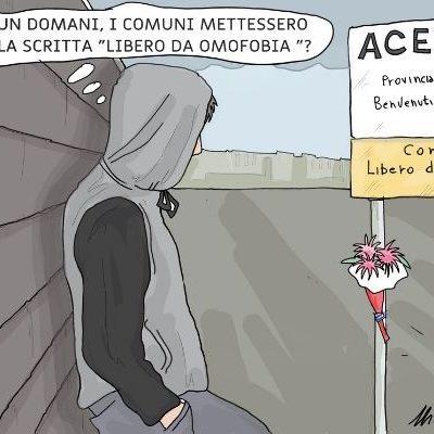comune libero da omofobia. . Nicocomix