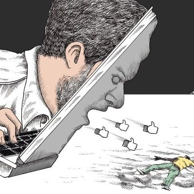quando metti i like sei complice! Campagna elettorale di Matteo Salvini. Nicocomix