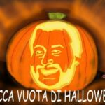 Halloween . la zucca vuota di Salvini. Nicocomix