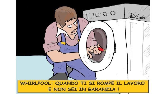 Whirlpool, scaduta garanzia . A Napoli chiuse lo stabilimento della Whirlpool. 350 persone perdono il lavoro. Nicocomix
