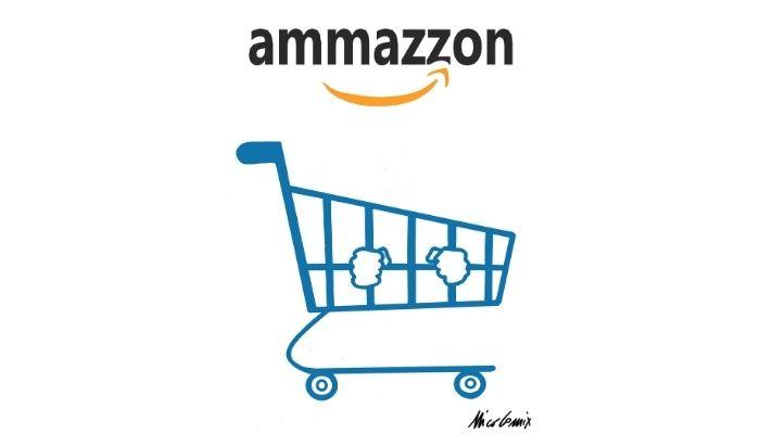 Ammazzon . La campagna pubblicitaria per il cambio d'immagine di Amazon corrisponde a un cambio di trattamento dei dipendenti? Nicocomix