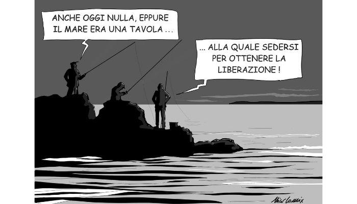 I pescatori di Mazara del Vallo. Ancora in ostaggio, la trattativa con il generale Haftar. Nicocomix