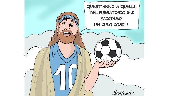 Maradona . Nicocomix
