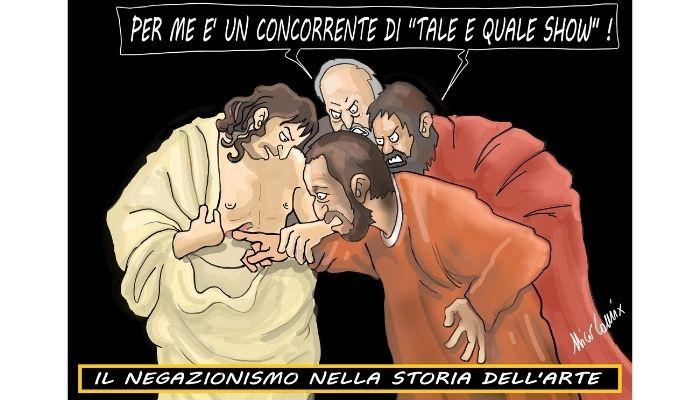 """Negazionismo nella storia dell'arte . Caravaggio """"l'incredubilità di S. Tommaso"""" Nicocomix"""