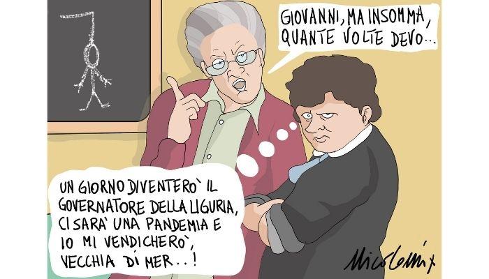 """Reveng :""""non indispensabili allo sforzo produttivo del Paese"""" Giovanni Toti . Nicocomix"""