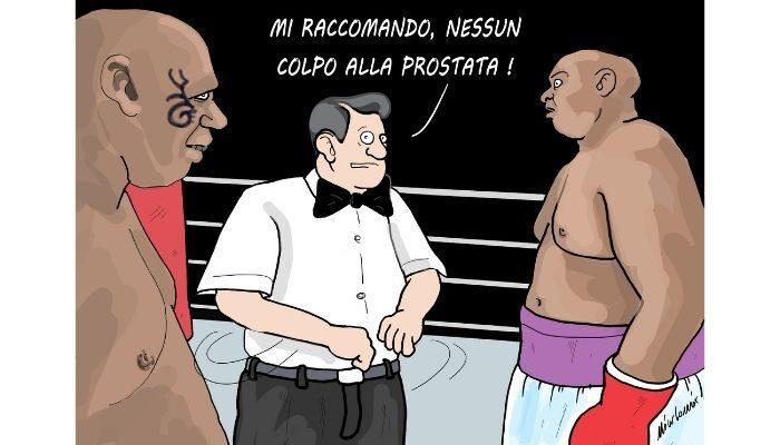 Tyson . ritorno sul ring . Nicocomix