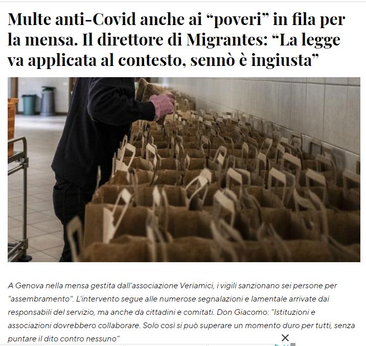 articolo su Genova