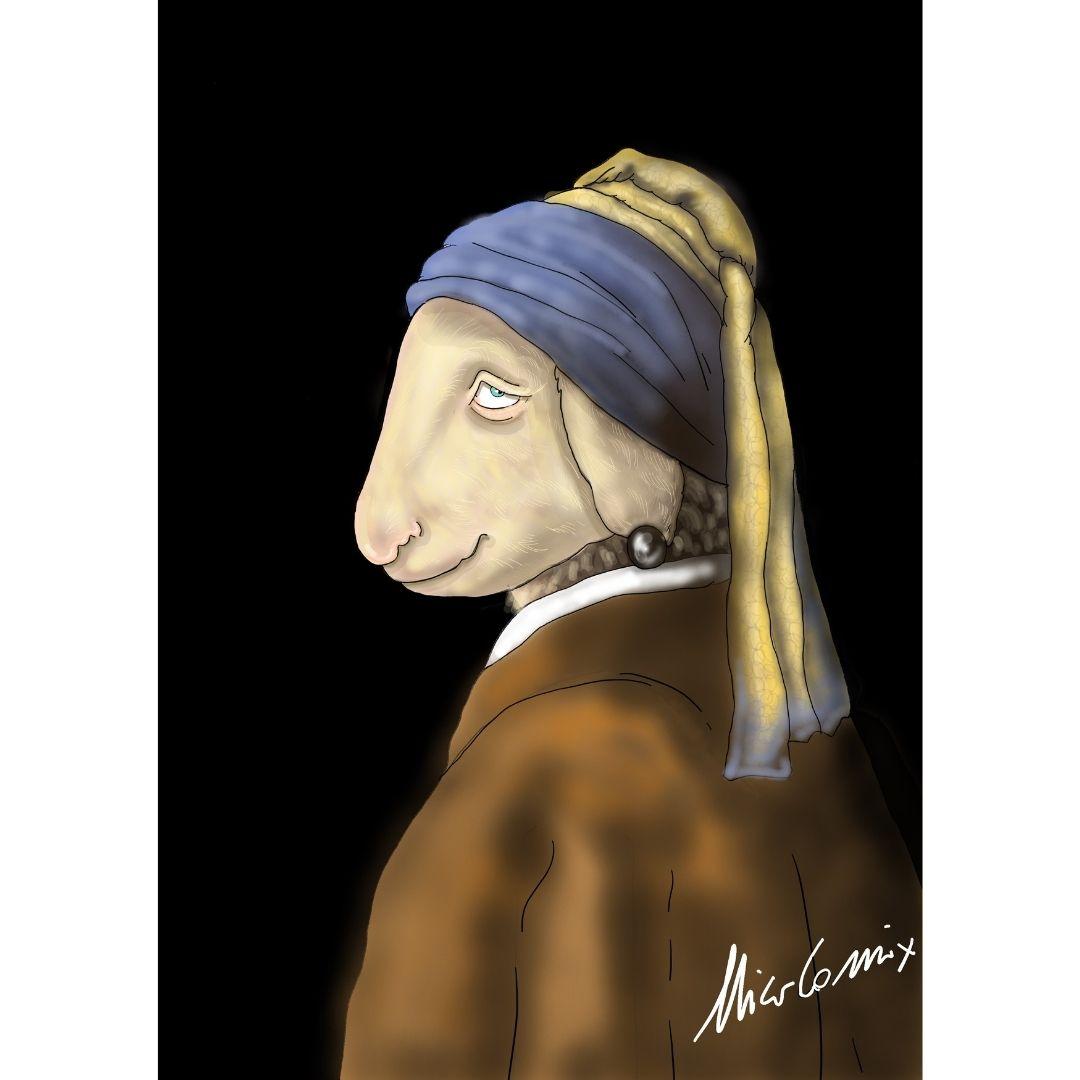 Beeelen . Omaggio alla pecora del maestro Bruno Bozzetto. Nicocomix